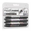 Letraset Marker Set 6'S (Metallic Set 2)