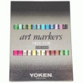 Yoken 酒精嘜克筆套裝24色-ATN