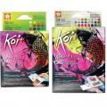 櫻花Koi錦鯉水彩顏料12色24色