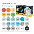Letraset Tria Marker 24 'S - (Product Design)