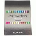 Yoken 酒精嘜克筆套裝24色-ATD
