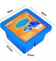 蒙瑪特方形塑料洗筆盒 #MAXX0019
